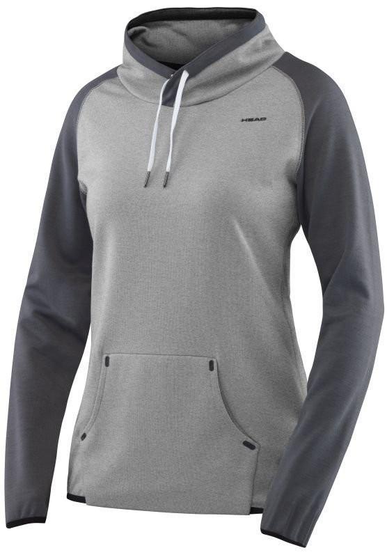 Кофта женская Head Transition W T4S Sweat Shirt Crew grey
