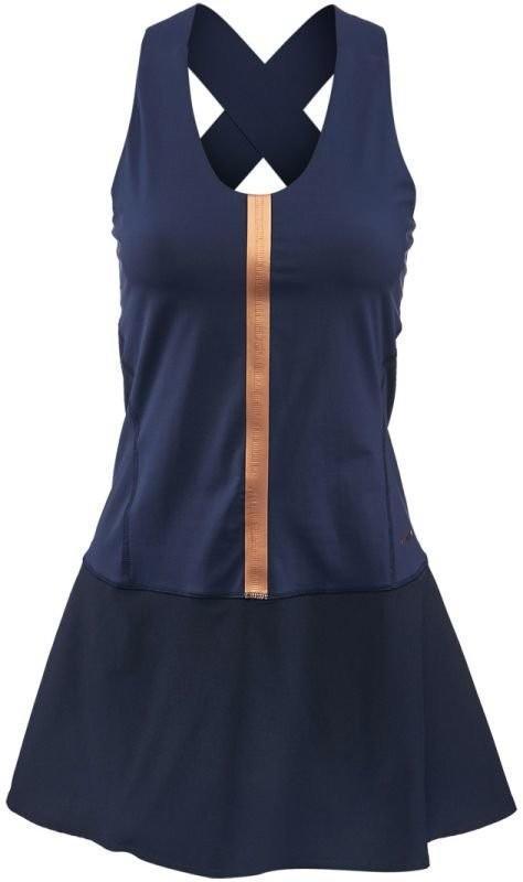 Теннисное платье женское Head Performance Dress W navy