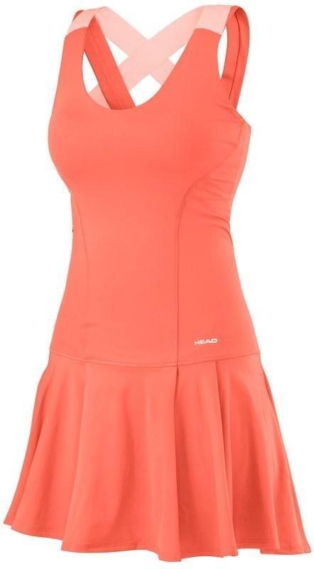 Теннисное платье женское Head Vision Dress W coral