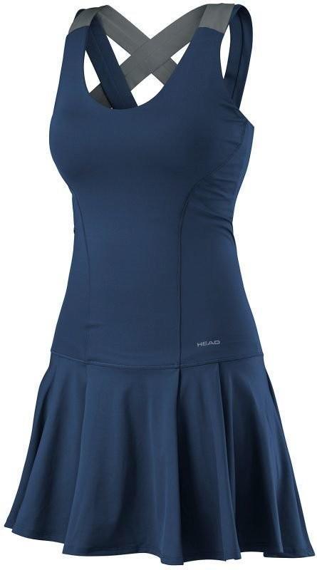 Теннисное платье женское Head Vision Dress W navy