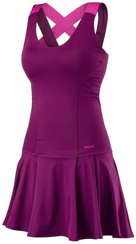 Теннисное платье женское Head Vision Dress W purple