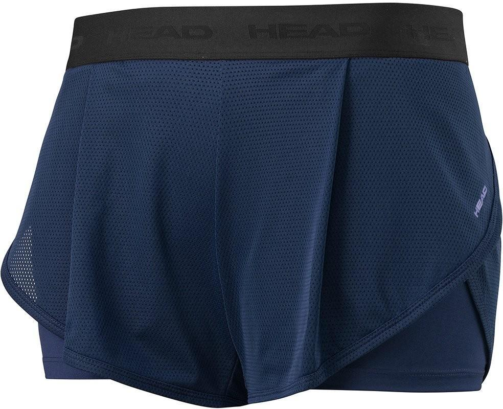 Теннисные шорты женские Head Vision Short W navy