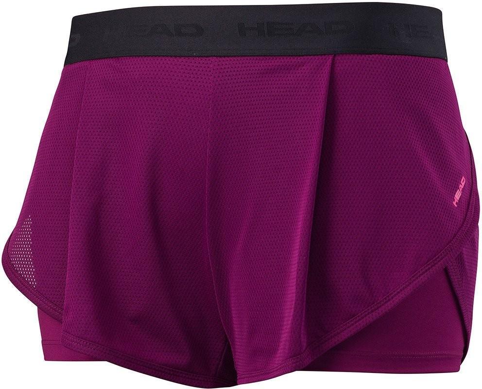Теннисные шорты женские Head Vision Short W purple