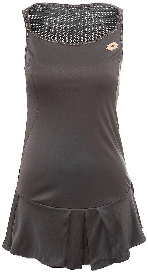 Теннисное платье женское Lotto Nixia II Dress grey shark