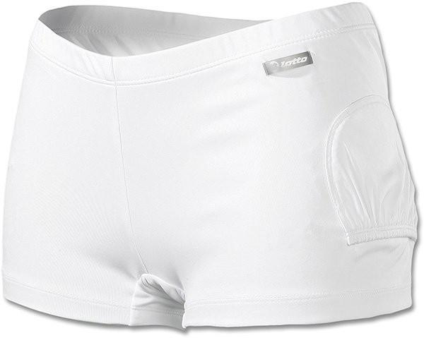 Теннисные шорты женские Lotto Short Uni W white  под платье