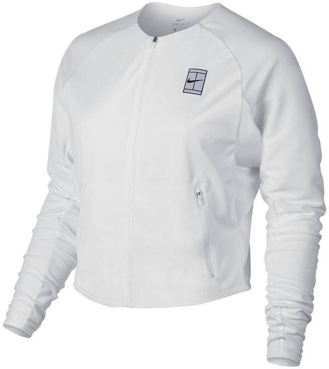 Куртка женская Nike Court Dry Jacket BL white/black/black