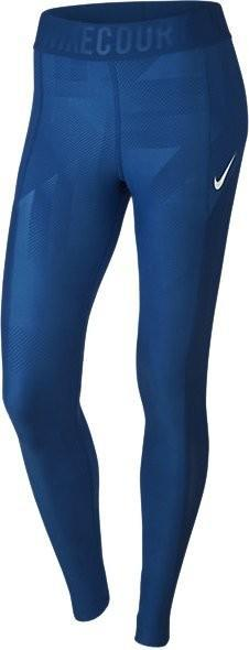 Леггинсы женские Nike Court Power Tennis Tights blue jay/white