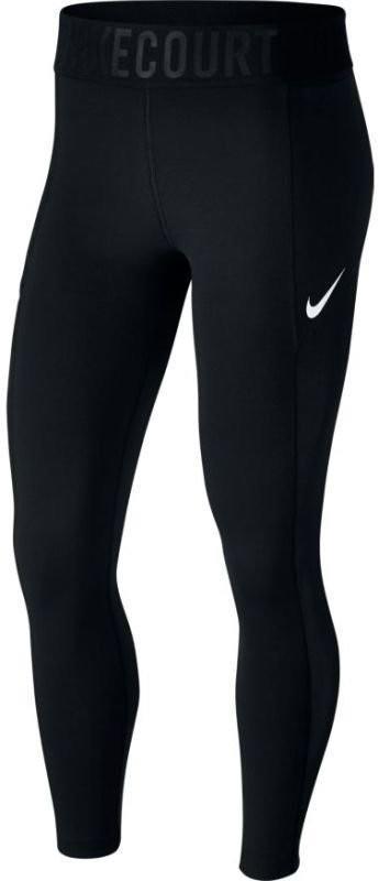 Леггинсы женские Nike Court Power Tight black/white
