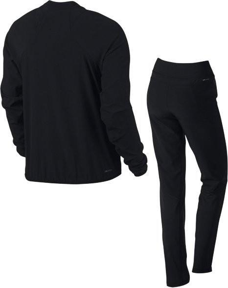3afabd5cb2a3 Спортивный костюм женский Nike Court Woven Warm Up black/black/white