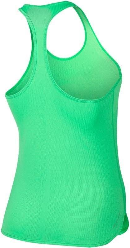 Теннисная майка женская Nike Court Womens Slam Tank Premier electro green/black/black