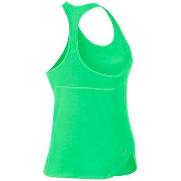 Теннисная майка женская Nike Dry Tank Slam electro green/black