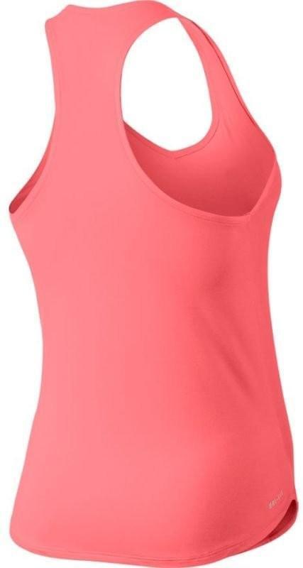 Теннисная майка женская Nike Pure Tank lava glow