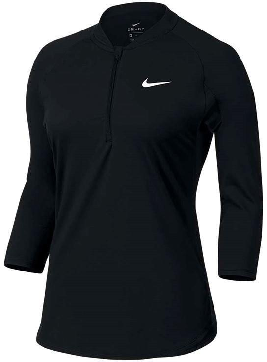 Теннисная футболка женская Nike Dry Pure Top black
