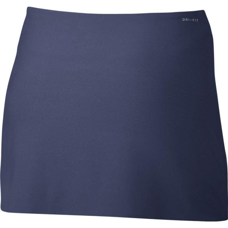 Теннисная юбка женская Nike Court Power Spin Tennis Skirt blue recall/black