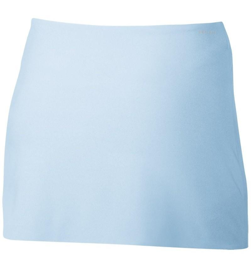 Тенісна спідничка жіноча Nike Court Power Spin Tennis Skirt hydrogen blue/dark grey