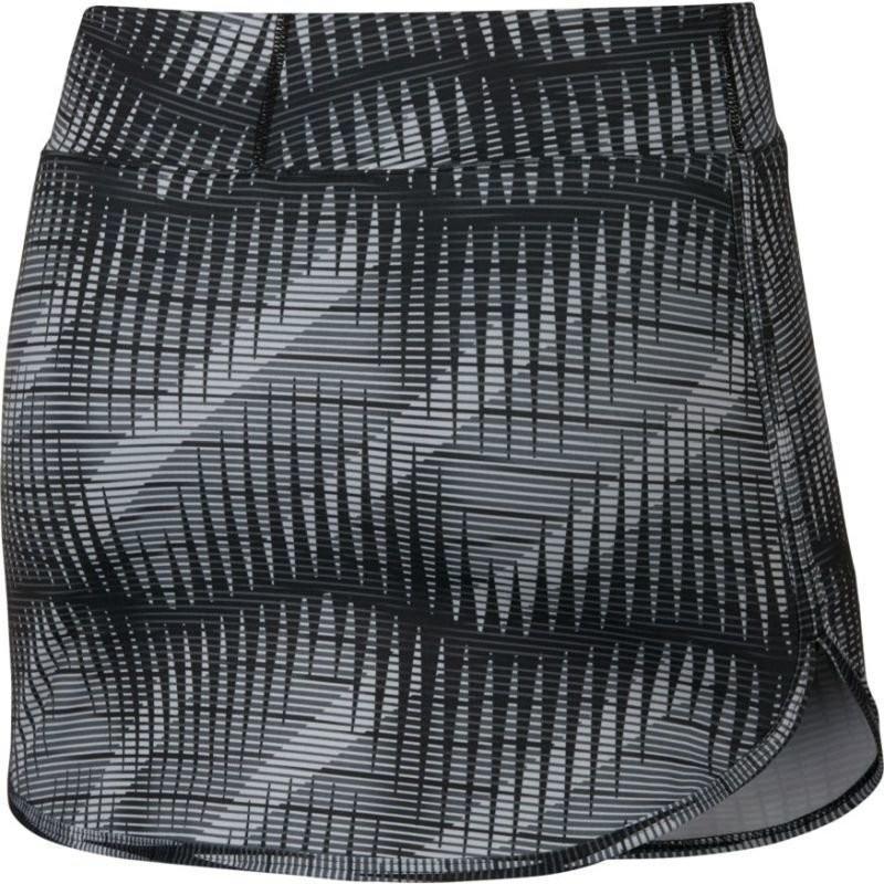 Теннисная юбка женская Nike Court Pure Print Skirt cool grey