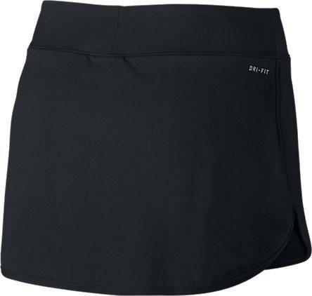 Теннисная юбка женская Nike Court Pure Skirt black/white