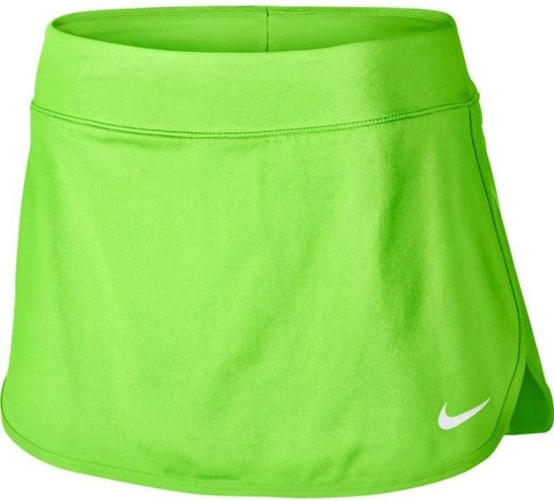 Теннисная юбка женская Nike Court Pure Skirt ghost green/white