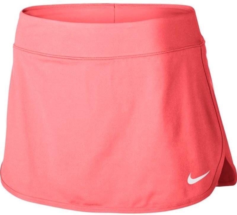 Теннисная юбка женская Nike Court Pure Skirt lava glow