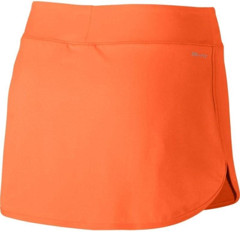 Теннисная юбка женская Nike Court Pure Skirt tart/white