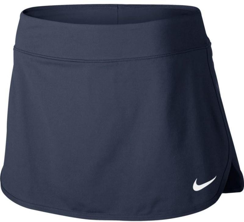 Теннисная юбка женская Nike Court Pure Skirt thunder blue/white