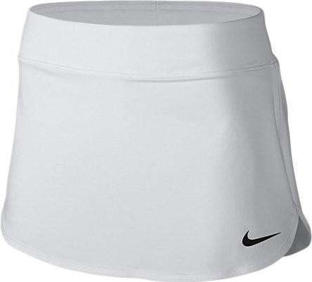 Теннисная юбка женская Nike Court Pure Skirt white/black