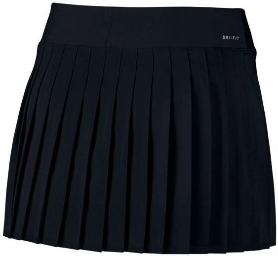 Теннисная юбка женская Nike Victory black/white