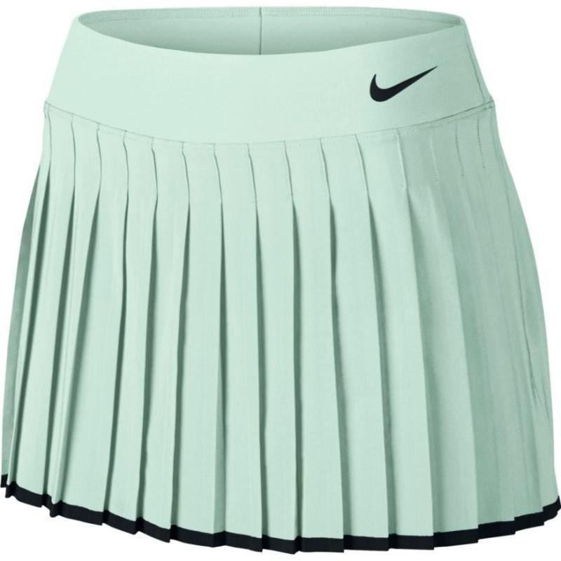 Теннисная юбка женская Nike Victory Skirt barely green/black