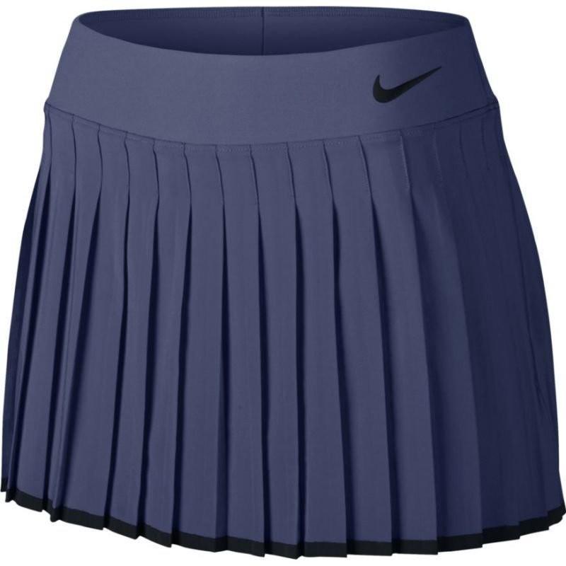 Теннисная юбка женская Nike Victory Skirt blue recall