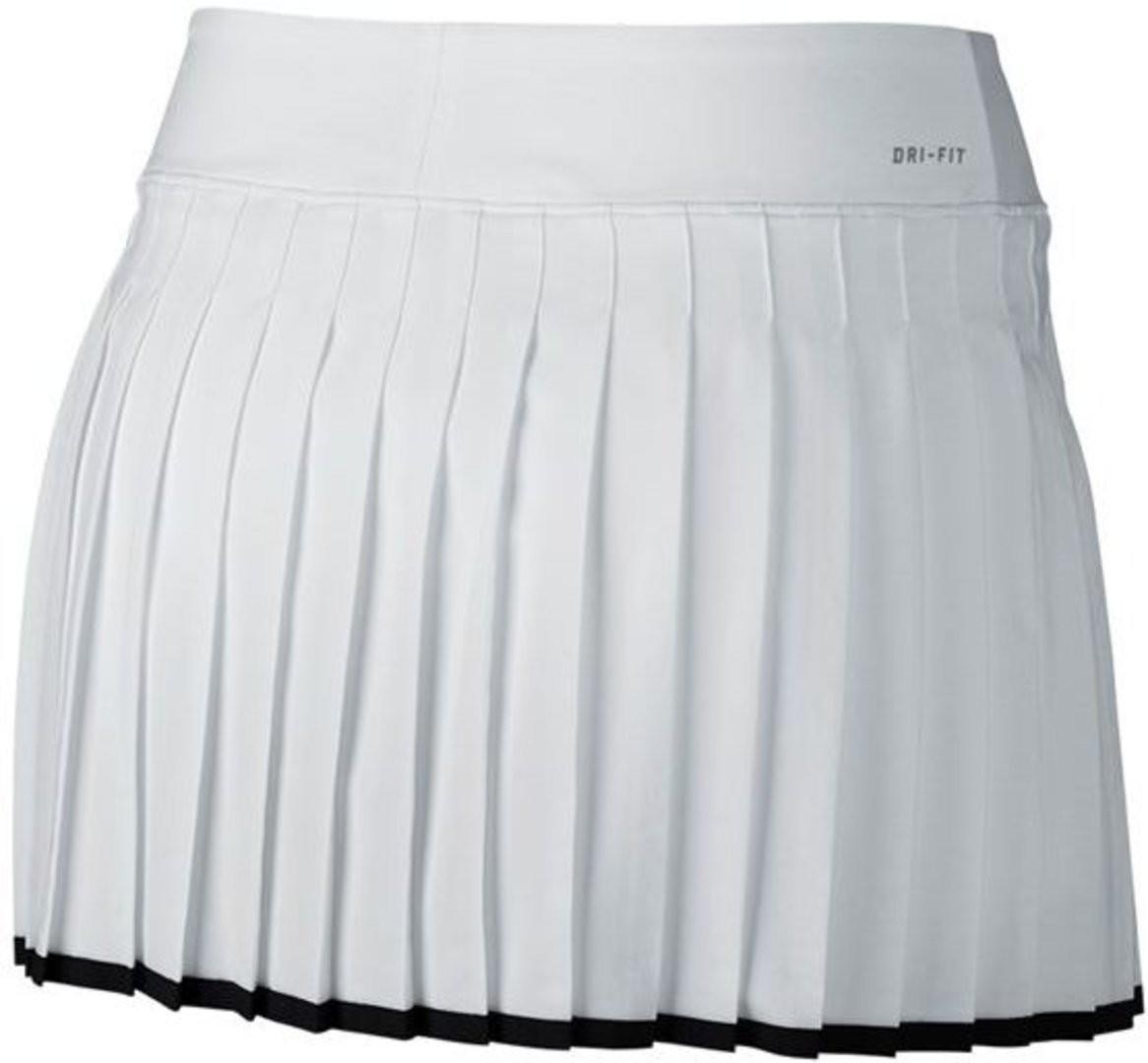 Теннисная юбка женская Nike Victory Skirt white
