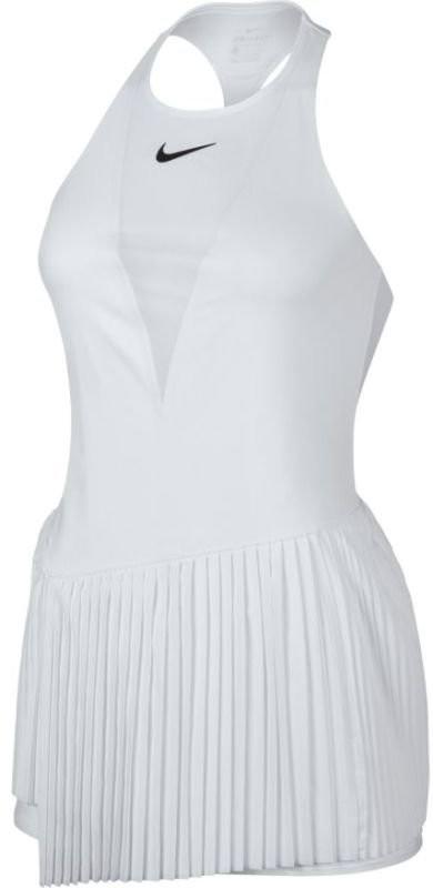 Теннисное платье женское Nike Court Power Maria Dress white/dark grey