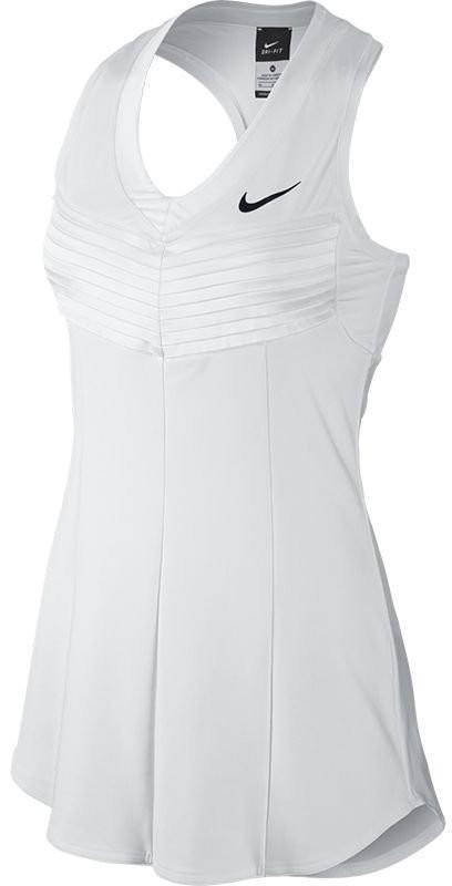 Теннисное платье женское Nike Lawn Premier Maria SW19 Dress white/black