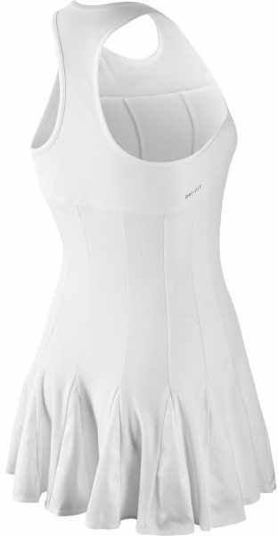 Теннисное платье женское Nike premier Maria Dress white/black