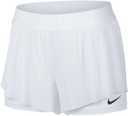Теннисные шорты женские Nike Court Flex Maria Short Wimbledon white/dark grey