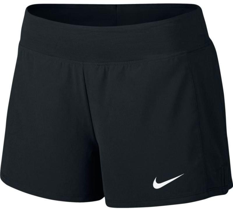 Теннисные шорты женские Nike Court FLX Pure Short black/white