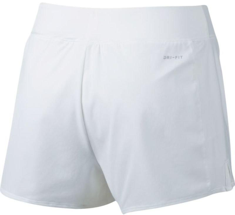 Тенісні шорти жіночі Nike Court FLX Pure Short white/black