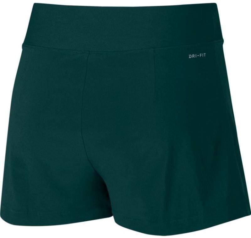 Теннисные шорты женские Nike Court FLX WB US Skort dark atomic green/dark grey