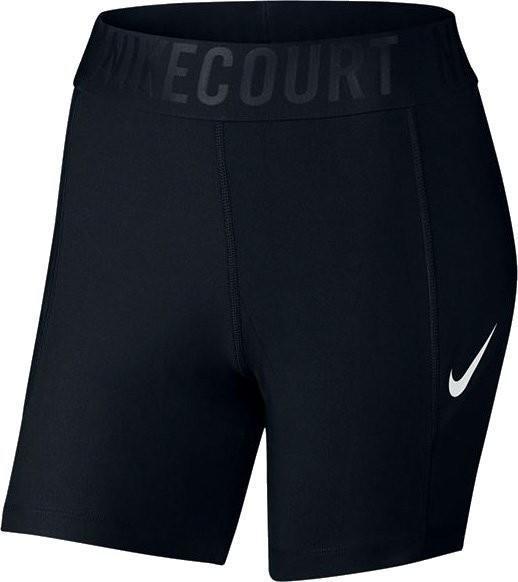 Теннисные шорты женские Nike Court Power Short BL 5 black/white