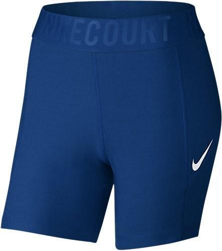 Теннисные шорты женские Nike Court Power Short BL 5 blue jay/white