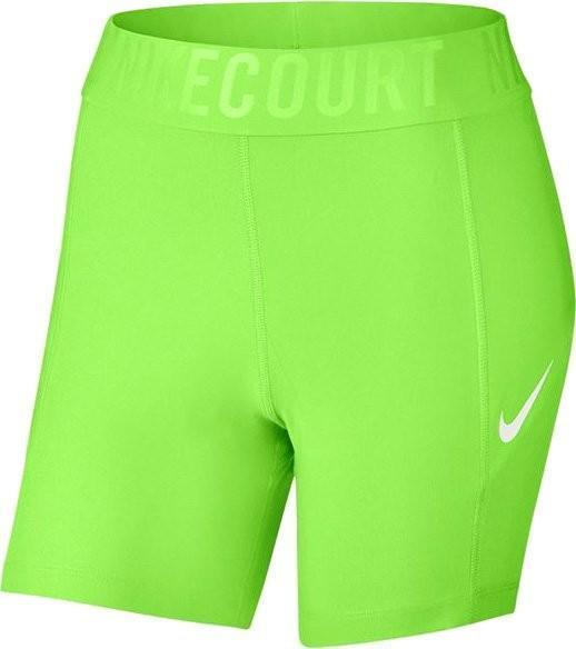 Теннисные шорты женские Nike Court Power Short BL 5 ghost green/white