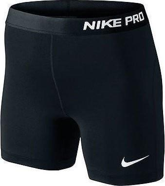 Теннисные шорты женские Nike Pro Womens 5 Training Shorts black/white