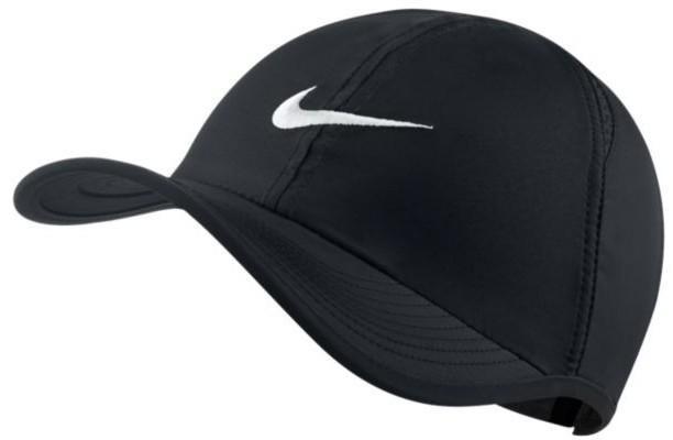 Кепка детская Nike Featherlight Adj Cap Junior black/white