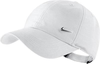 Кепка детская Nike Heritage 86 Metal Swoosh YTH white/metallic silver