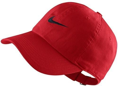 Кепка детская Nike Swoosh Heritage 86 YTH university red/black