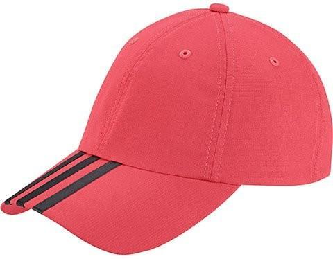 Теннисная кепка Adidas Climalite 3S Hat shock red/black/black