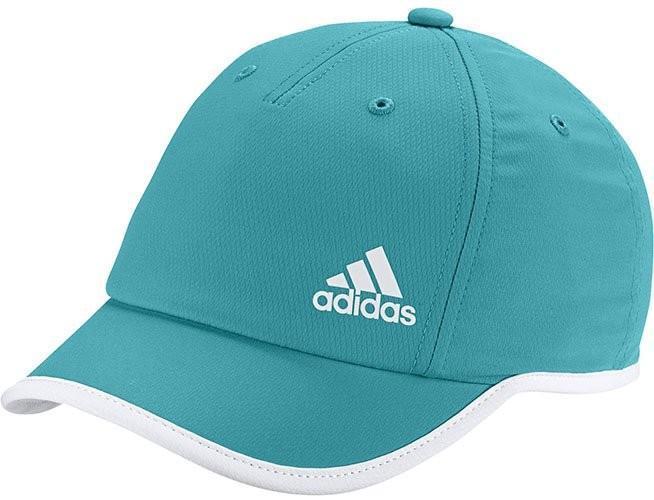 Теннисная кепка Adidas Climalite Hat Womens shock green/white/white