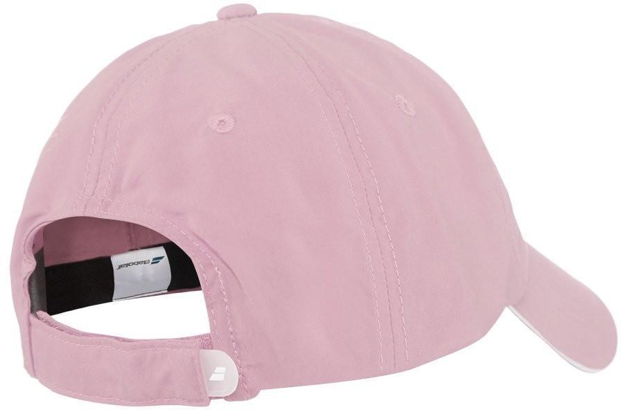 Теннисная кепка Babolat Basic Logo Cap light pink