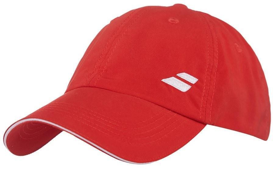 Теннисная кепка Babolat Basic Logo Cap red