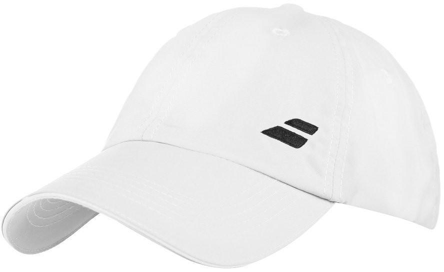 Теннисная кепка Babolat Basic Logo Cap white