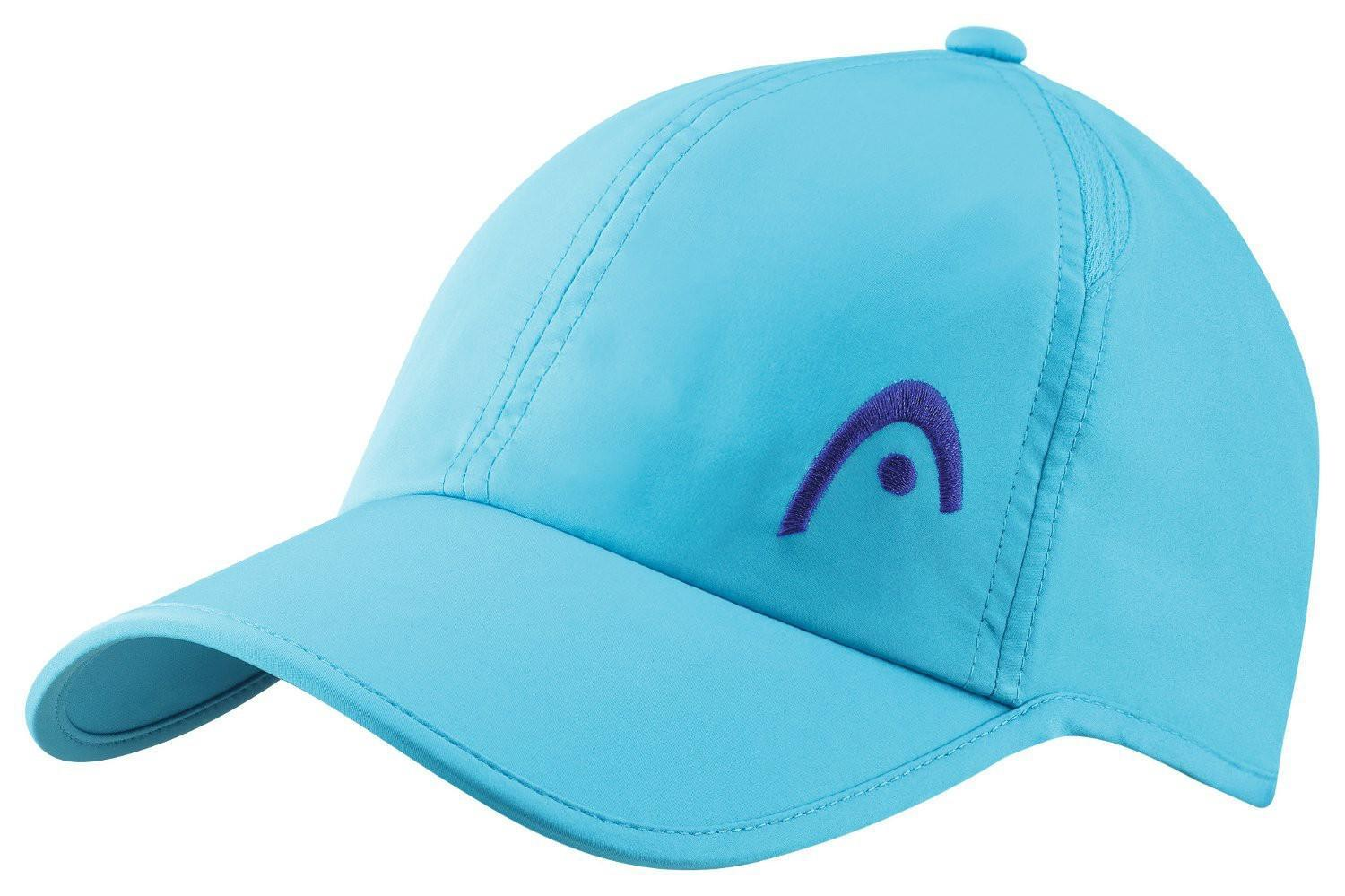 Теннисная кепка Head Pro Player Cap turquoise